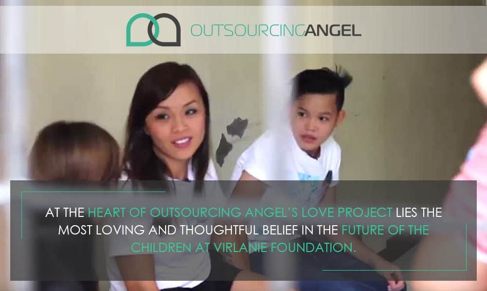 Outsourcing Angel Pays It Forward To The Kids Of Virlanie Foundation
