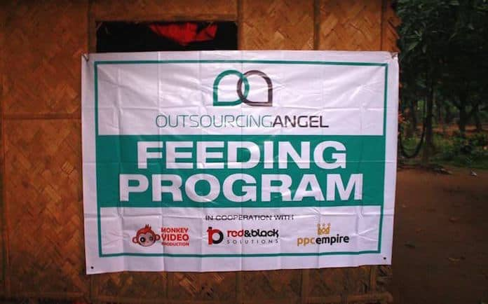 Outsourcing Angel Brings Smiles to the Dumagat Children