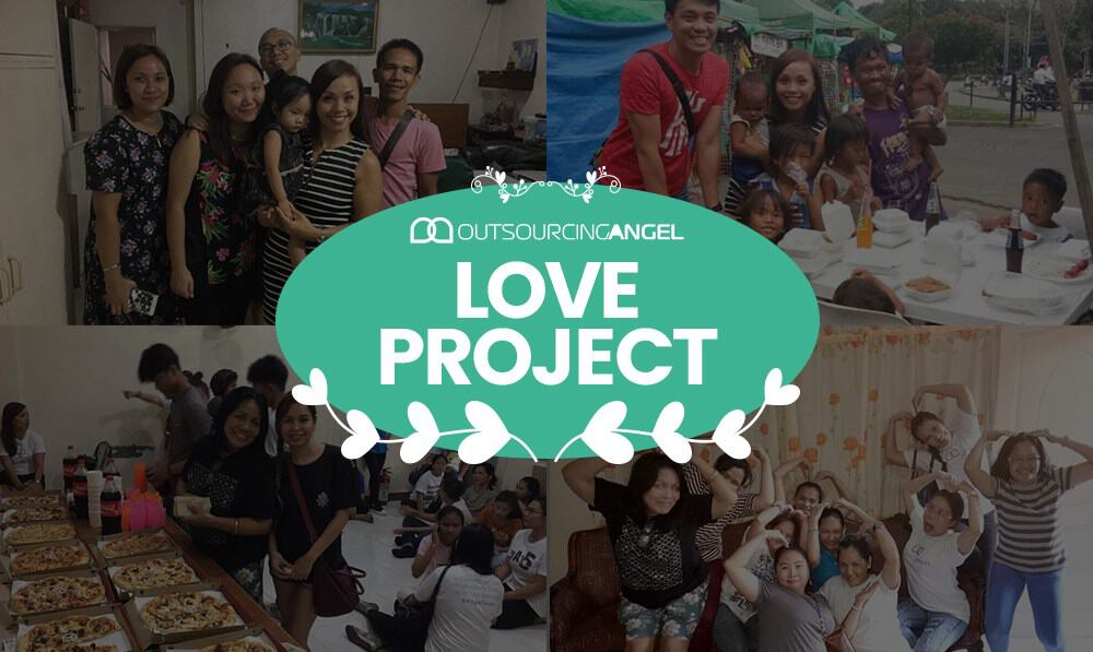 Outsourcing Angel Goes Beyond Our Borders to Share Love to Others