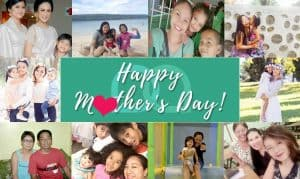 From One Mother, To Another. Happy Mother's Day!