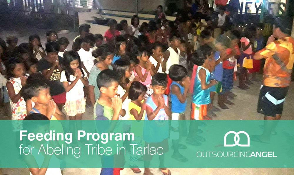 Outsourcing Angel Love Project Feeding Program for Abeling Tribe in Tarlac