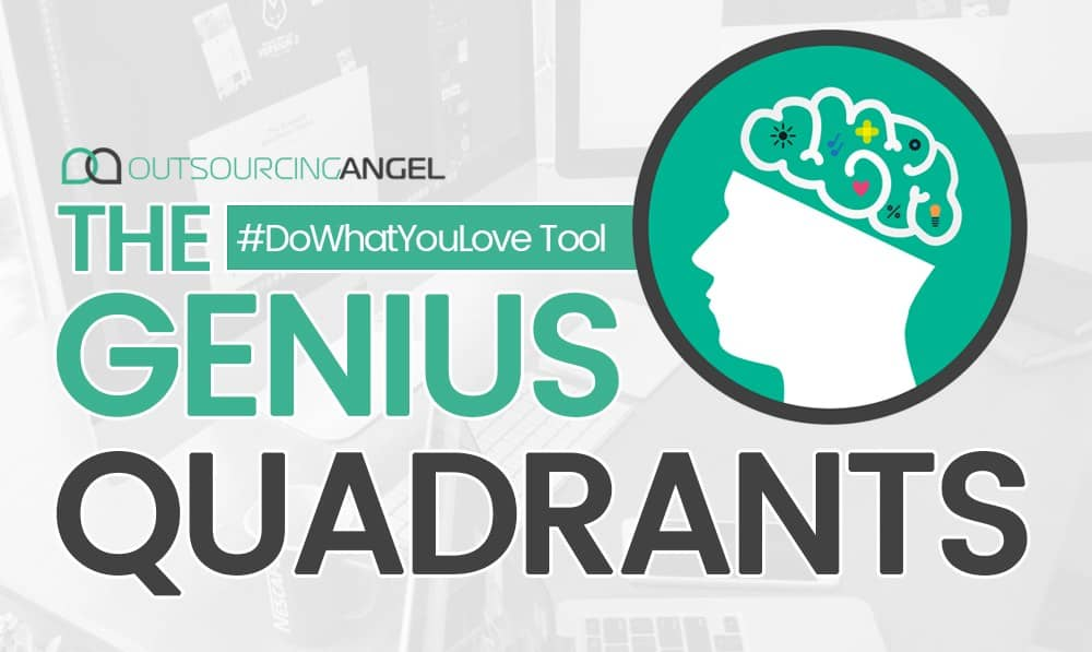 The Genius Quadrant – #DoWhatYouLove Tool
