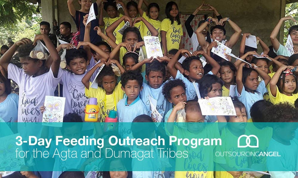 3-Day Feeding Outreach Program for the Agta and Dumagat Tribes
