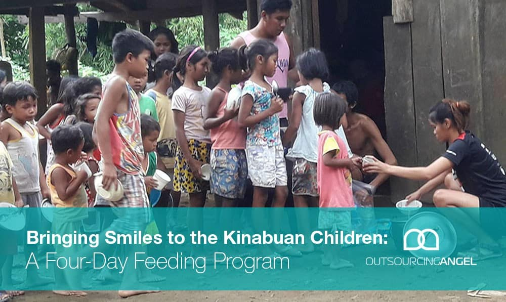 Bringing Smiles to the Kinabuan Children: A Four-Day Feeding Program