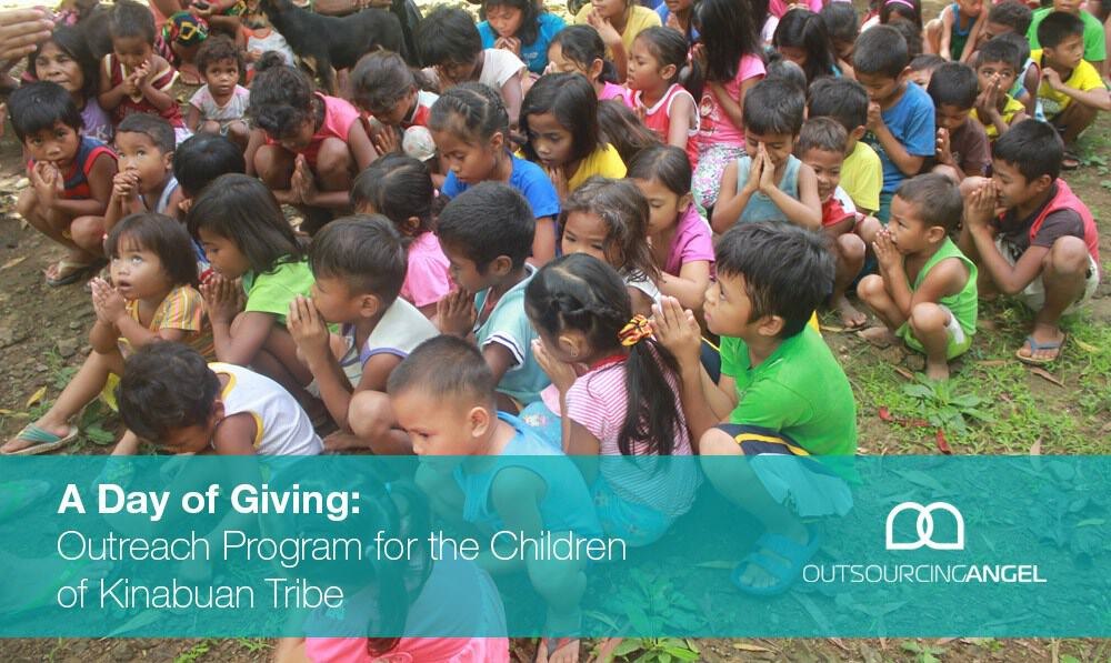 Outsourcing Angel Love Project A Day of Giving: Outreach Program for the Children of Kinabuan Tribe