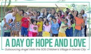 Outsourcing Angel A Day of Hope and Love