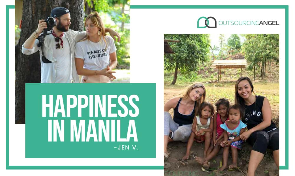 Happiness in Manila