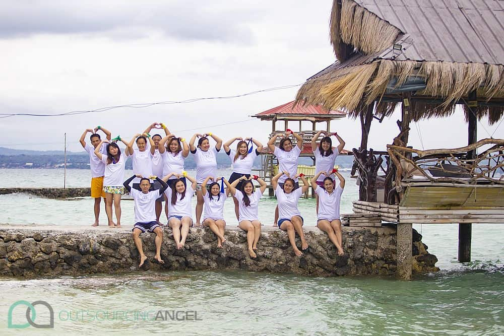 With love, from the Outsourcing Angels at Samal Island