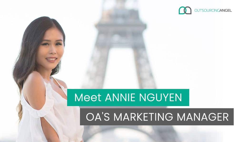 Meet Annie Nguyen - Outsourcing Angel's Marketing Manager