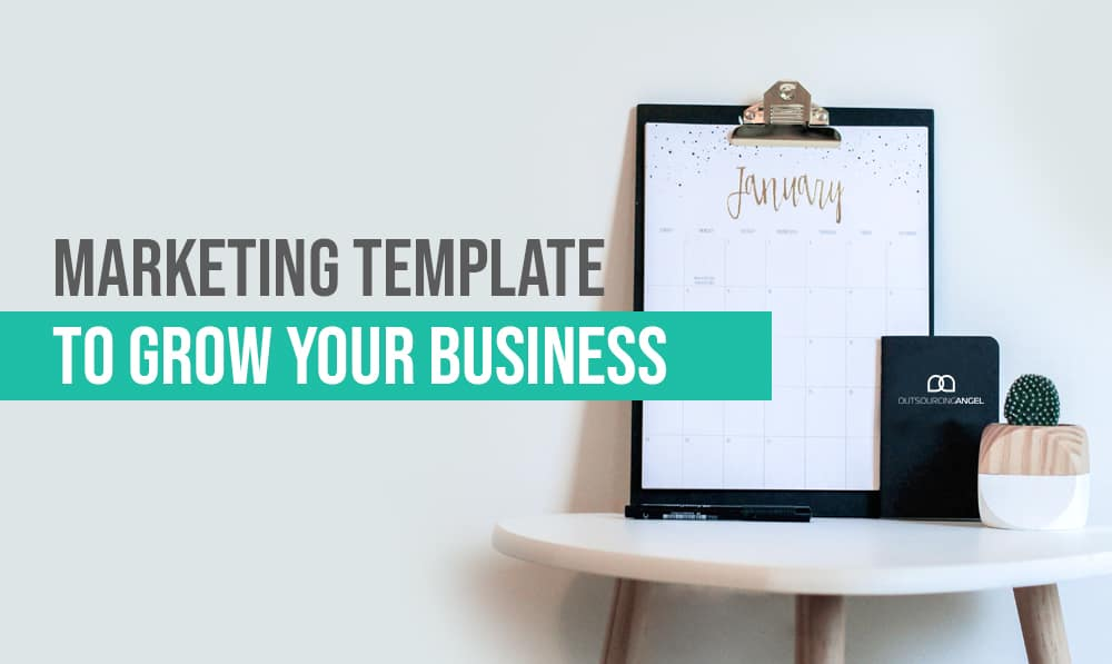 Use this Free Marketing Template to Grow Your Business this 2020